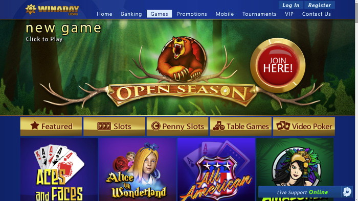 Winaday Casino Online