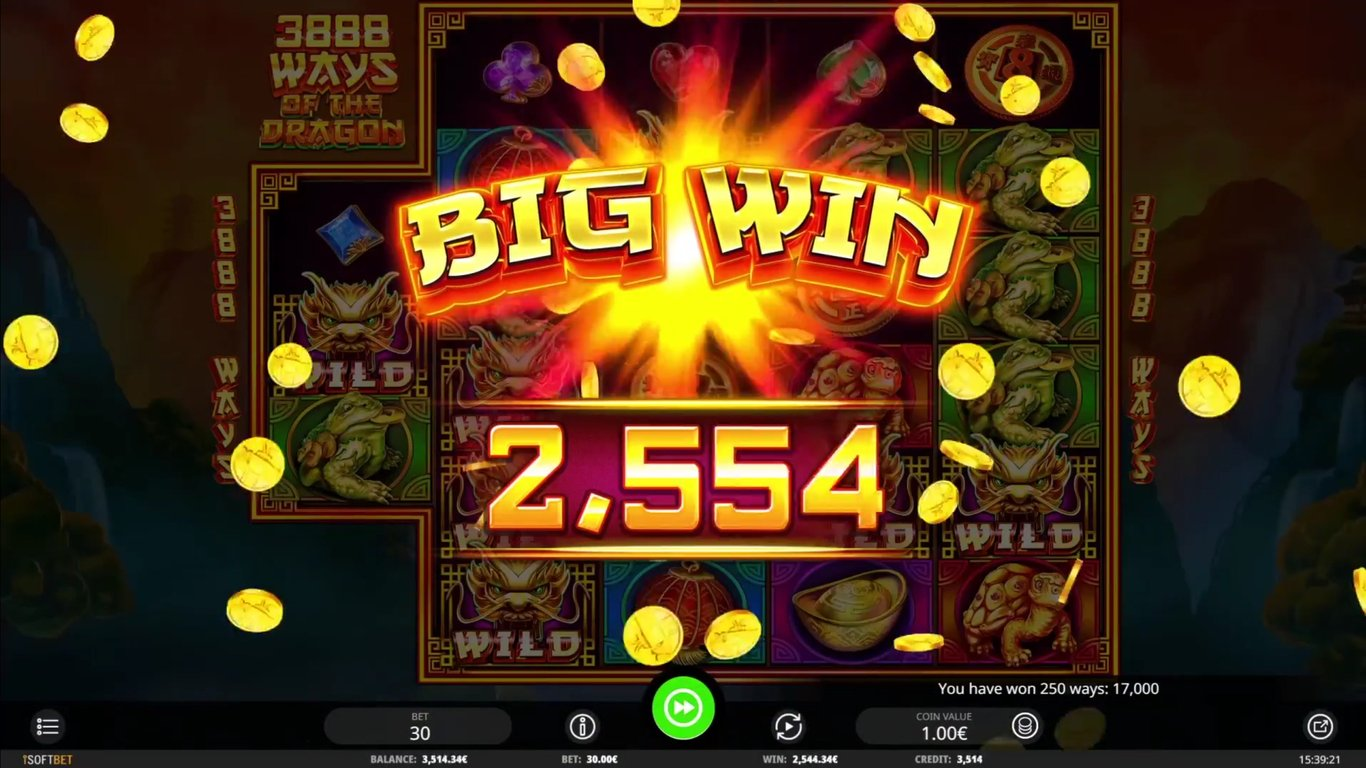 3888 Ways of the Dragon Slot Game