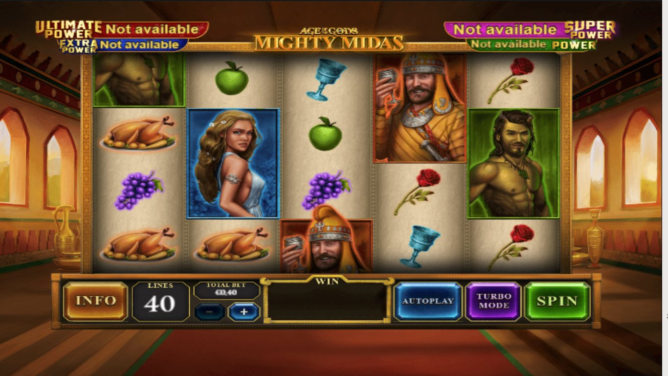 Age of the Gods: Mighty Midas Slot Game