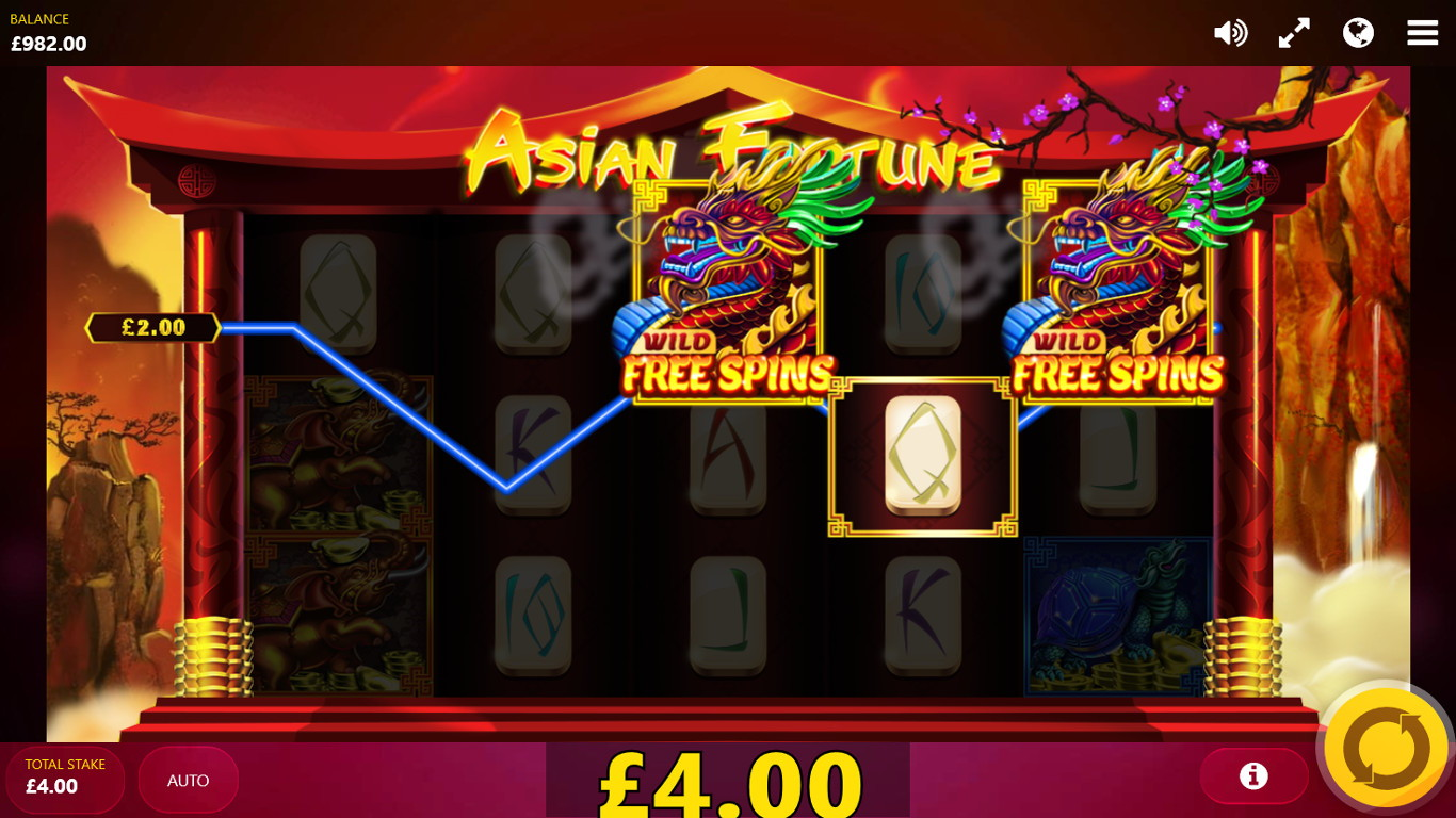 Asian Fortune Slot Game