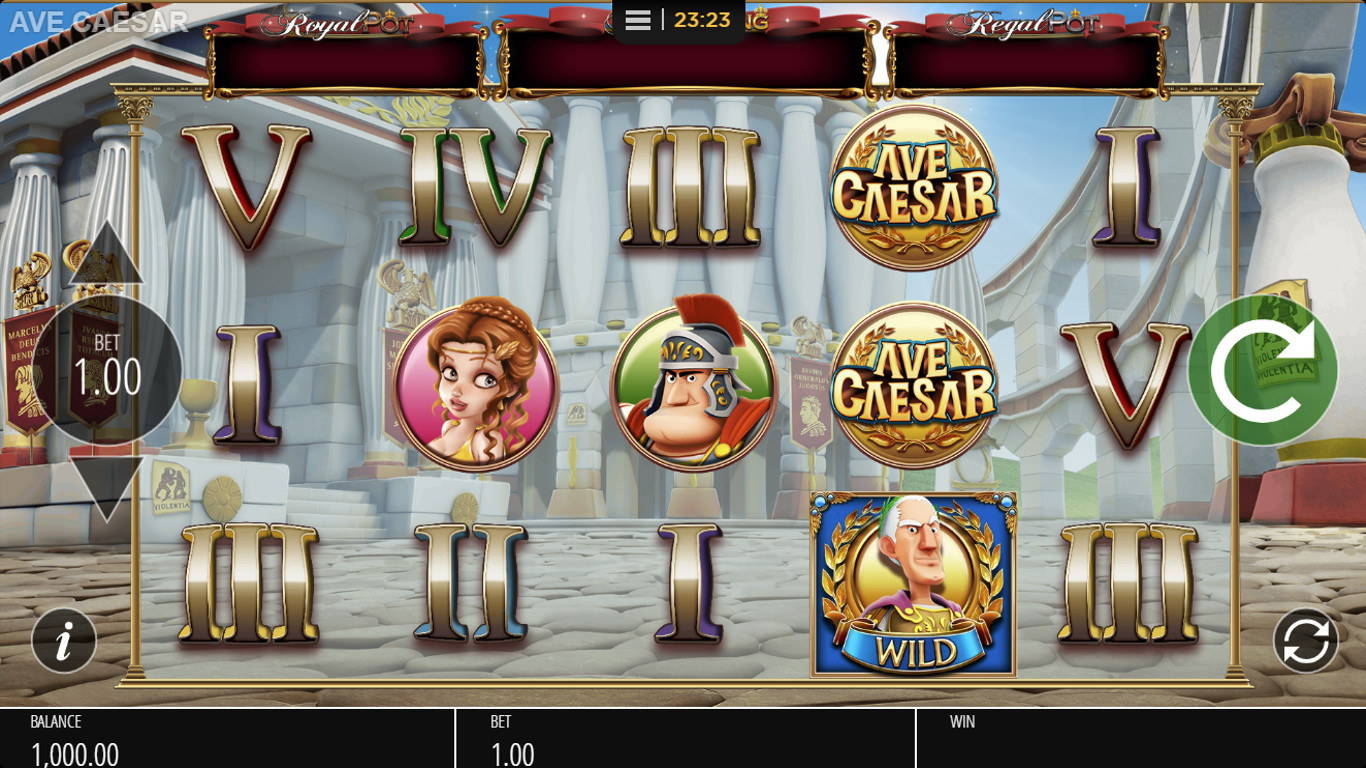 Ave Caesar Jackpot King  Slot Game