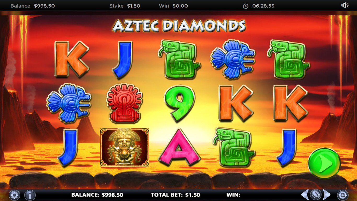 Aztec Diamonds Slot Game