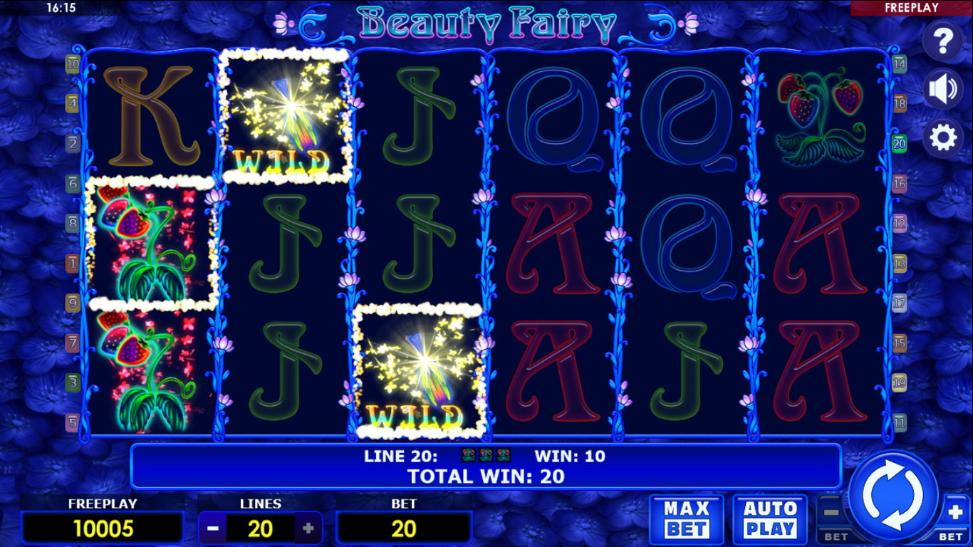 Beauty Fairy Video Slot