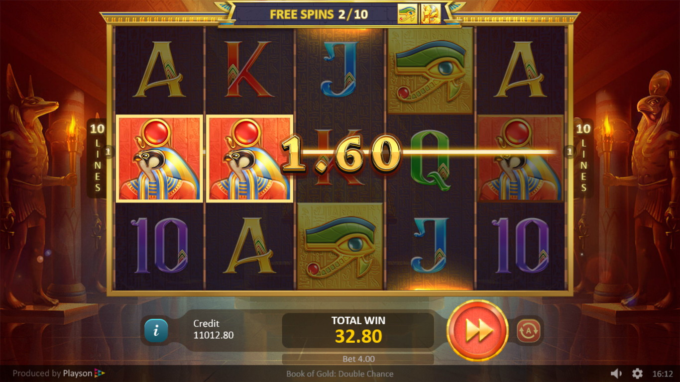Book of Gold Double Chance Slot Game