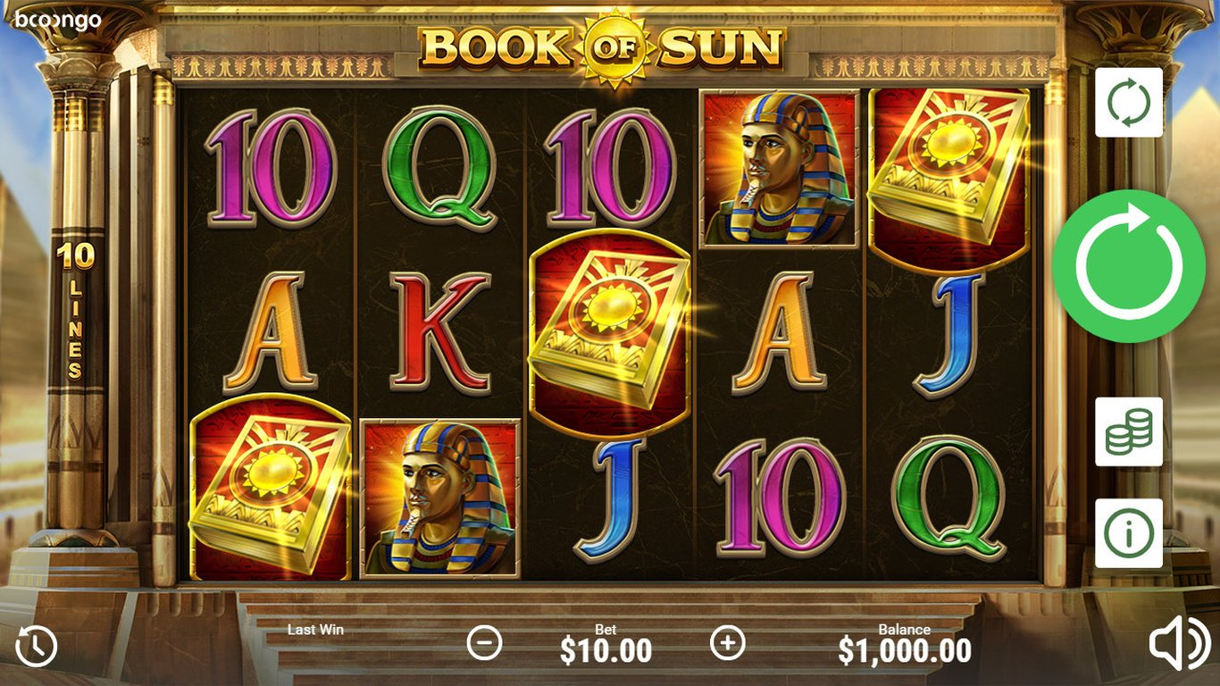 Book of Sun Slot Game