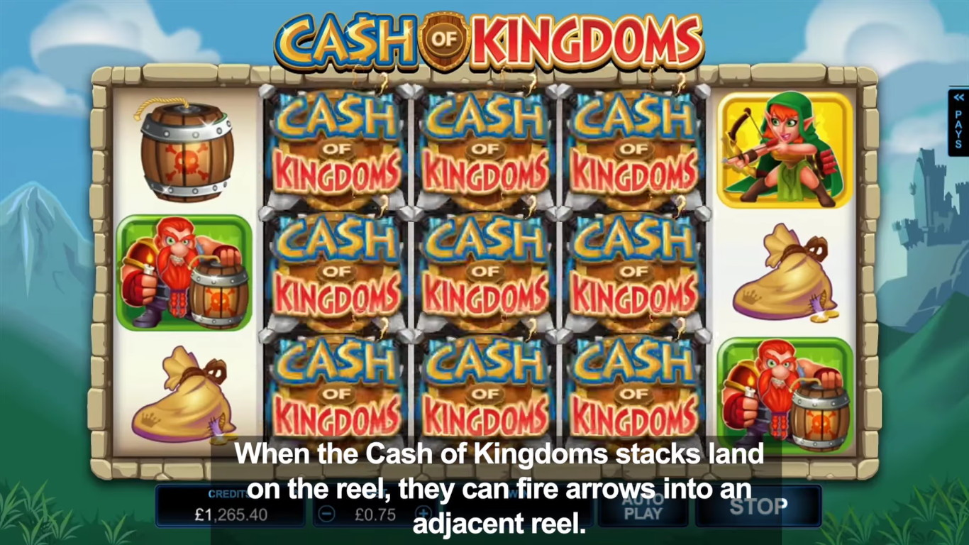 Cash of Kingdoms Slot Game