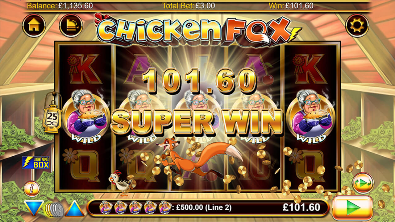 Chicken Fox Slot Game