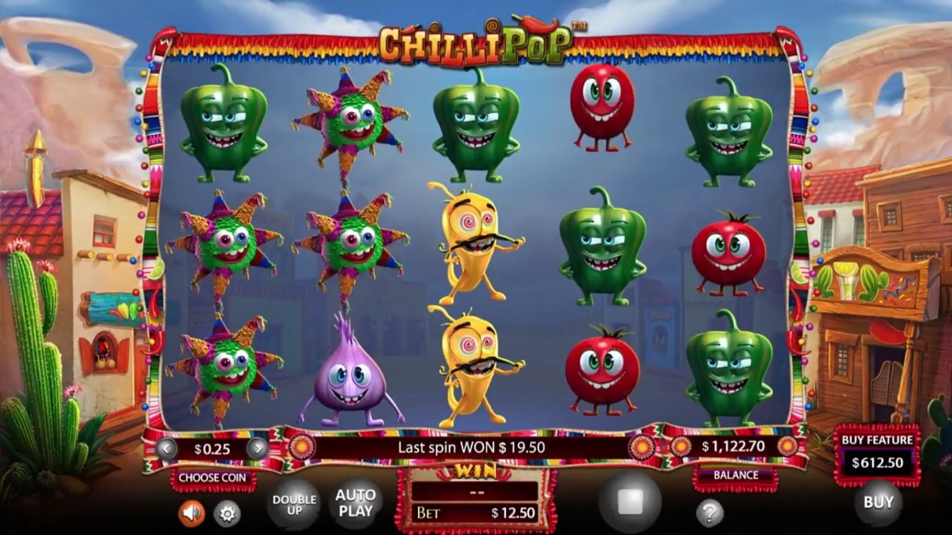 ChilliPop Slot Game