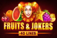 Fruits and Jokers 40 Lines Slot Machine