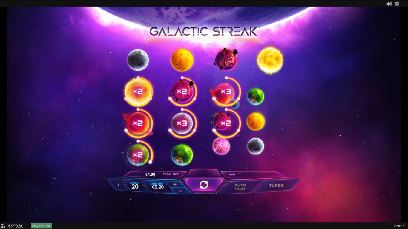 Galactic Streak Slot Game
