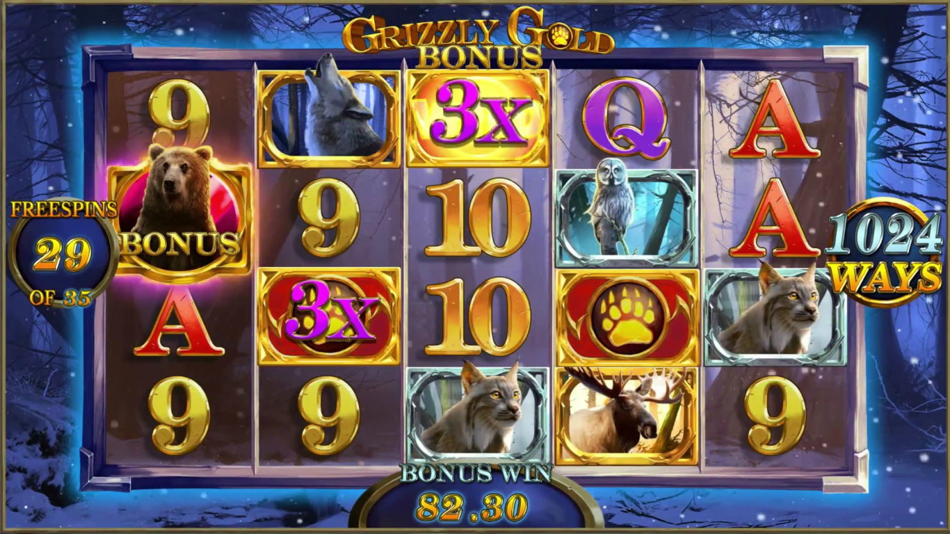 Grizzly Gold Slot Game
