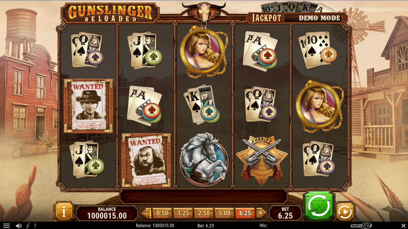 Gunslinger Reloaded Slot Game