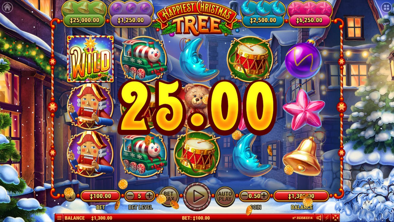Happiest Christmas Tree Slot Game