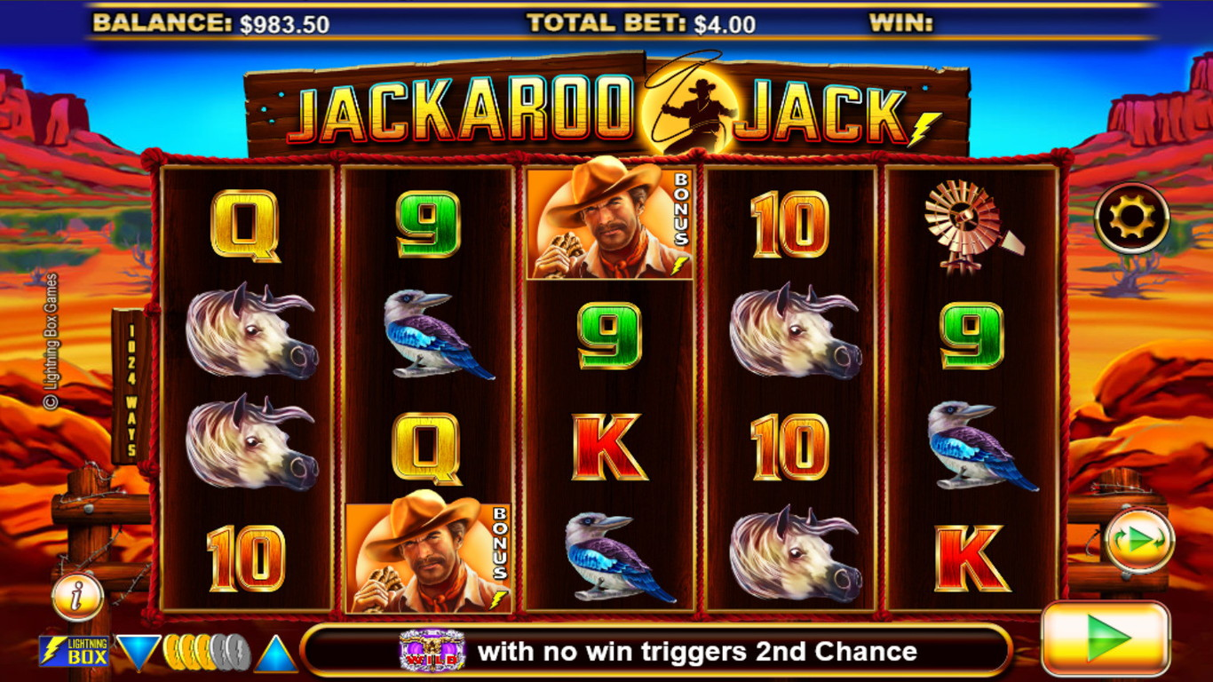 Jackaroo Jack Slot Game