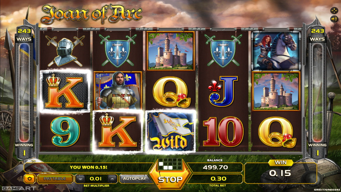 Joan of Arc Slot Game