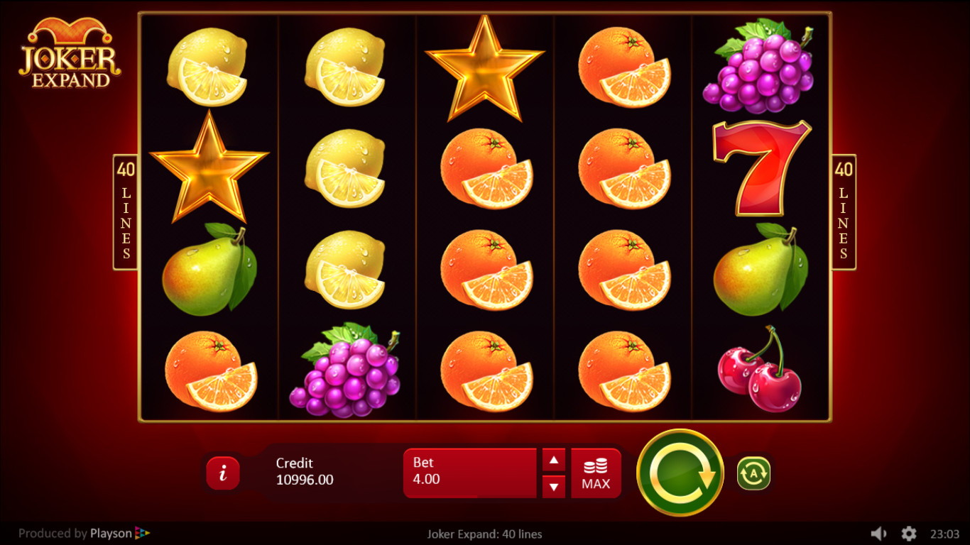 Joker Expand 40 Lines Slot Game