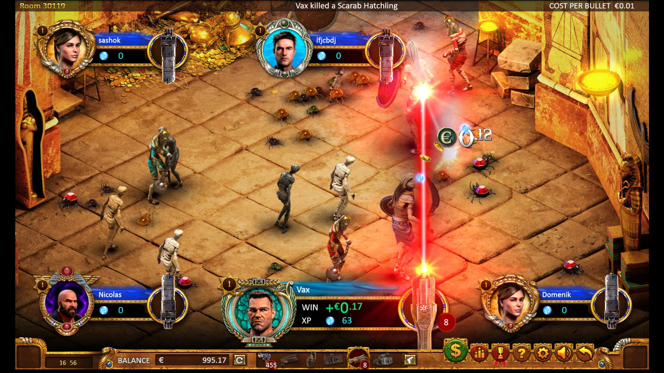 Max Quest Wrath of Ra Slot Game