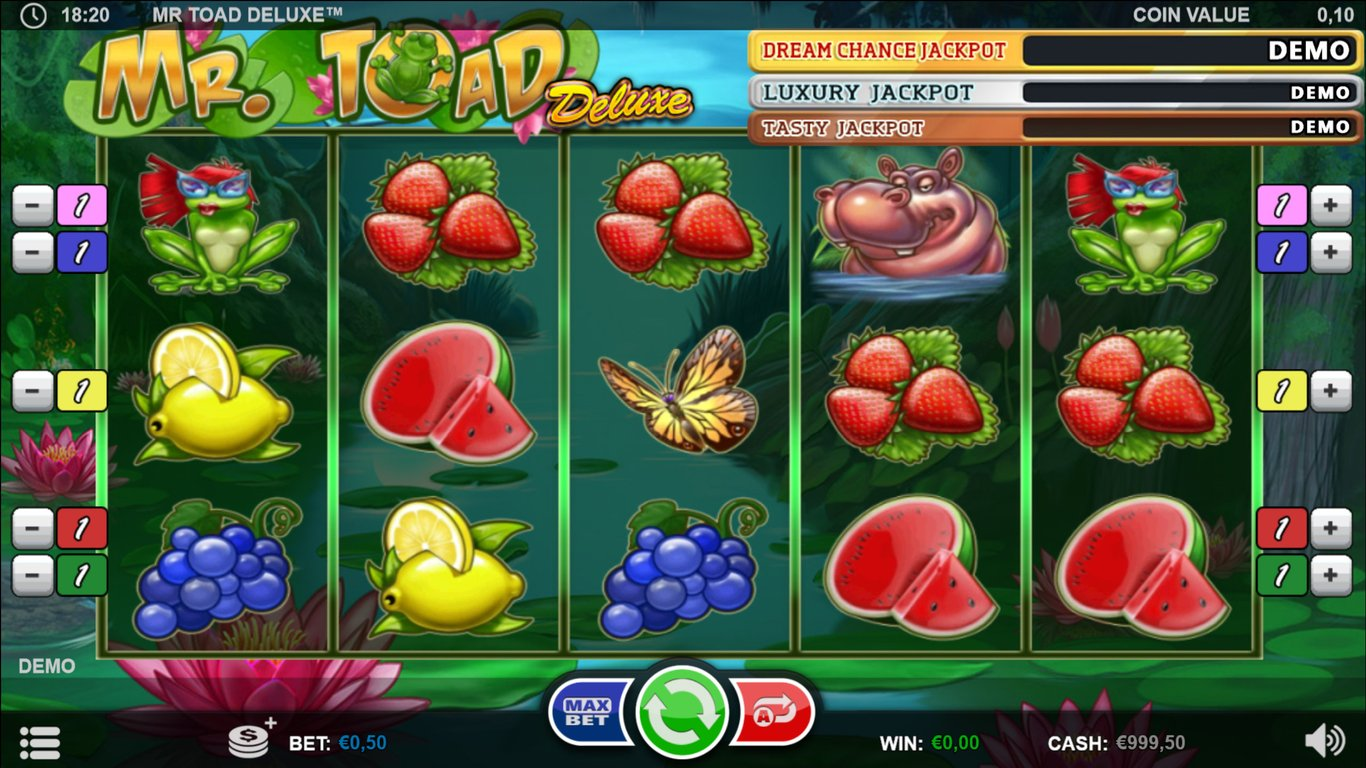 Mr Toad Deluxe Slot Game