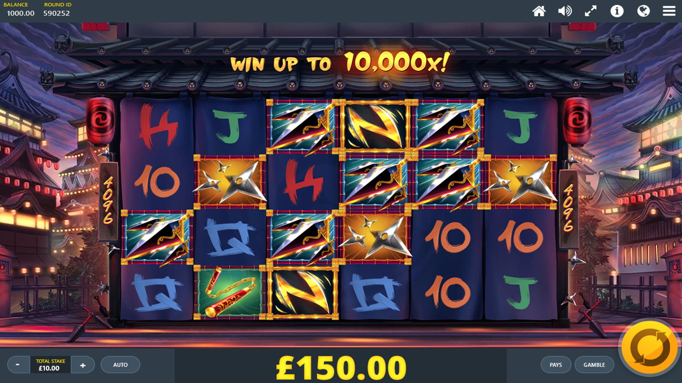 Ninja Ways Slot Game