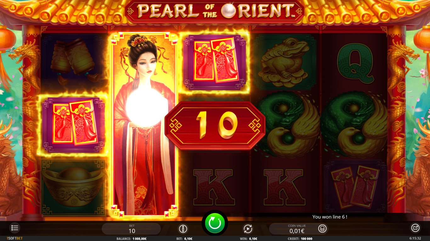 Pearl of the Orient Slot Game