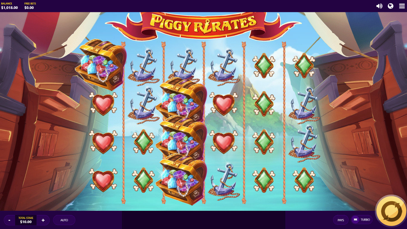 Piggy Pirates Slot Game