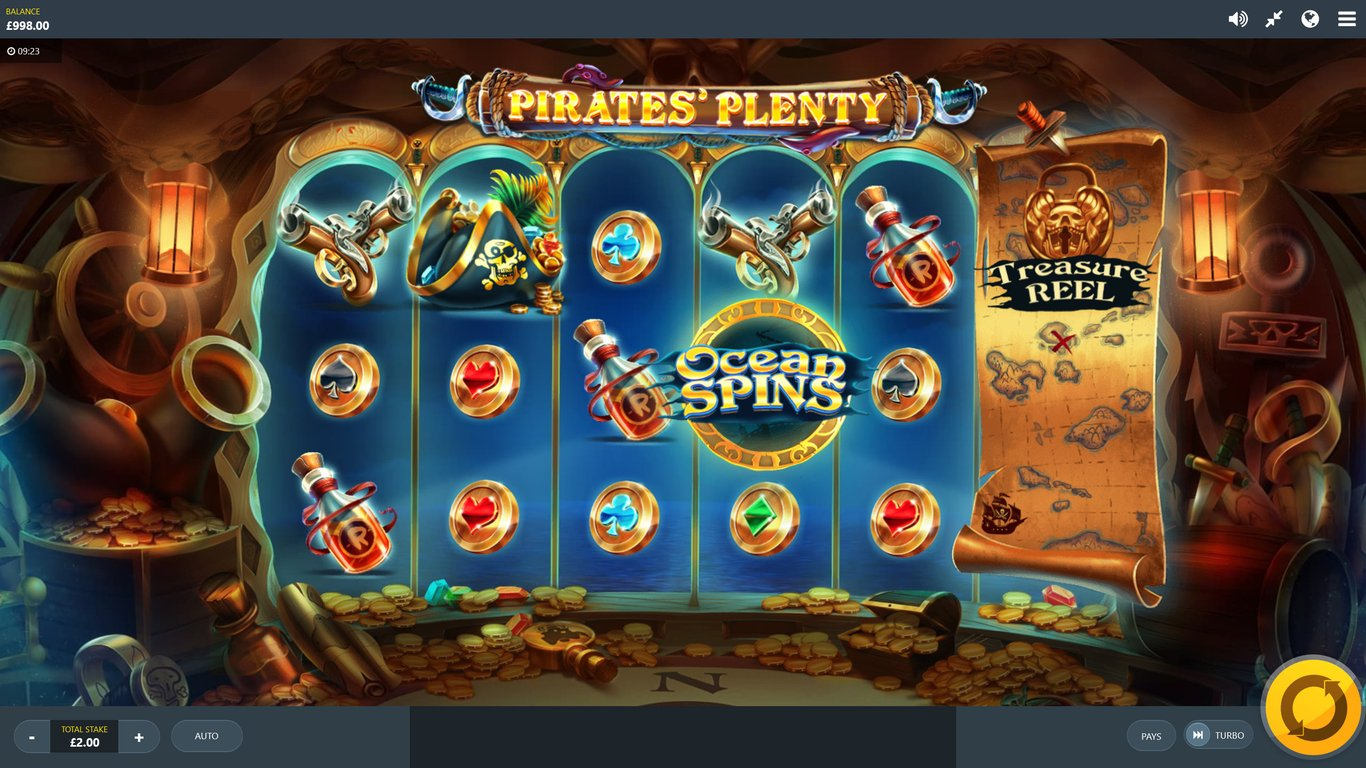 Pirates Plenty: The Sunken Treasure Slot Game