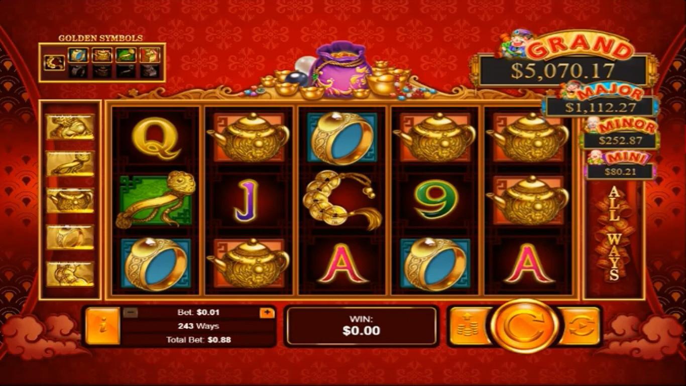 Plentiful Treasure Slot Machine