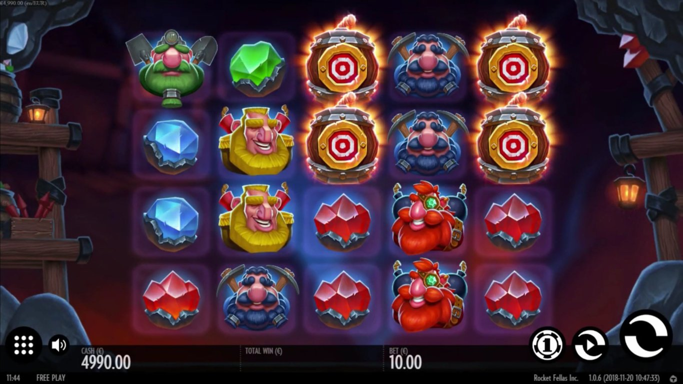 Rocket Fellas Inc Slot Game