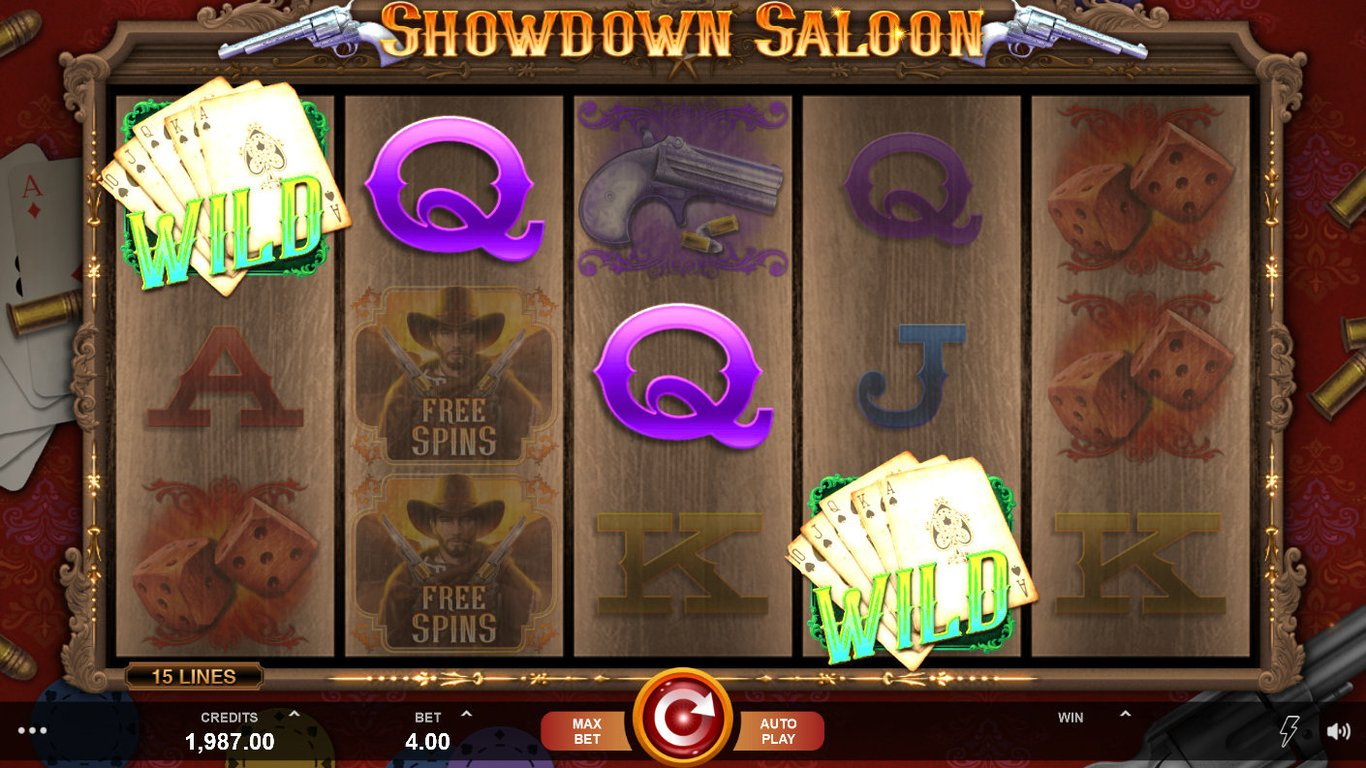 Showdown Saloon Slot Game