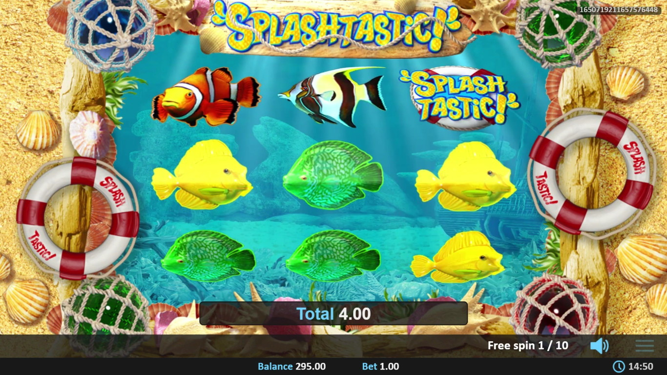 Splashtastic Slot Game