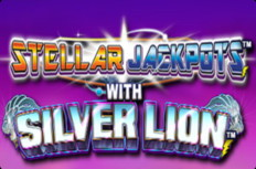 Stellar Jackpots with Silver Lion Video Slot