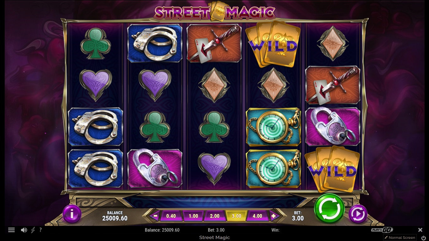 Street Magic Slot Game