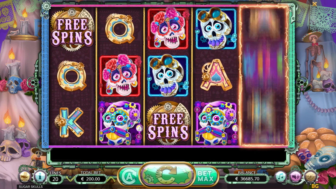 Sugar Skulls Slot Game