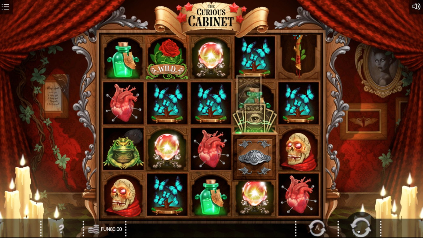 The Curious Cabinet Slot Game