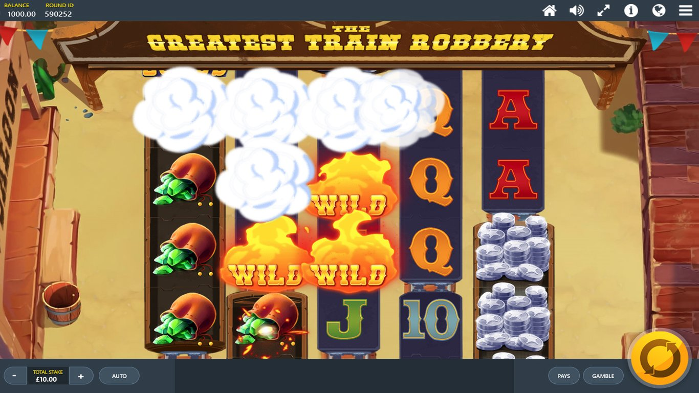 The Greatest Train Robbery  Slot Game