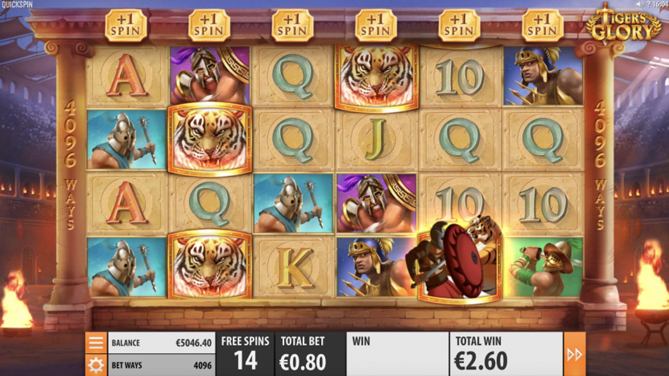 Tigers Glory Slot Game