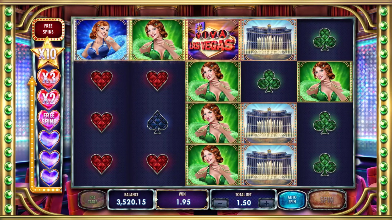Viva Las Vegas Slot Game