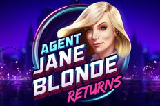 Agent Jane Blonde Returns Video Slot