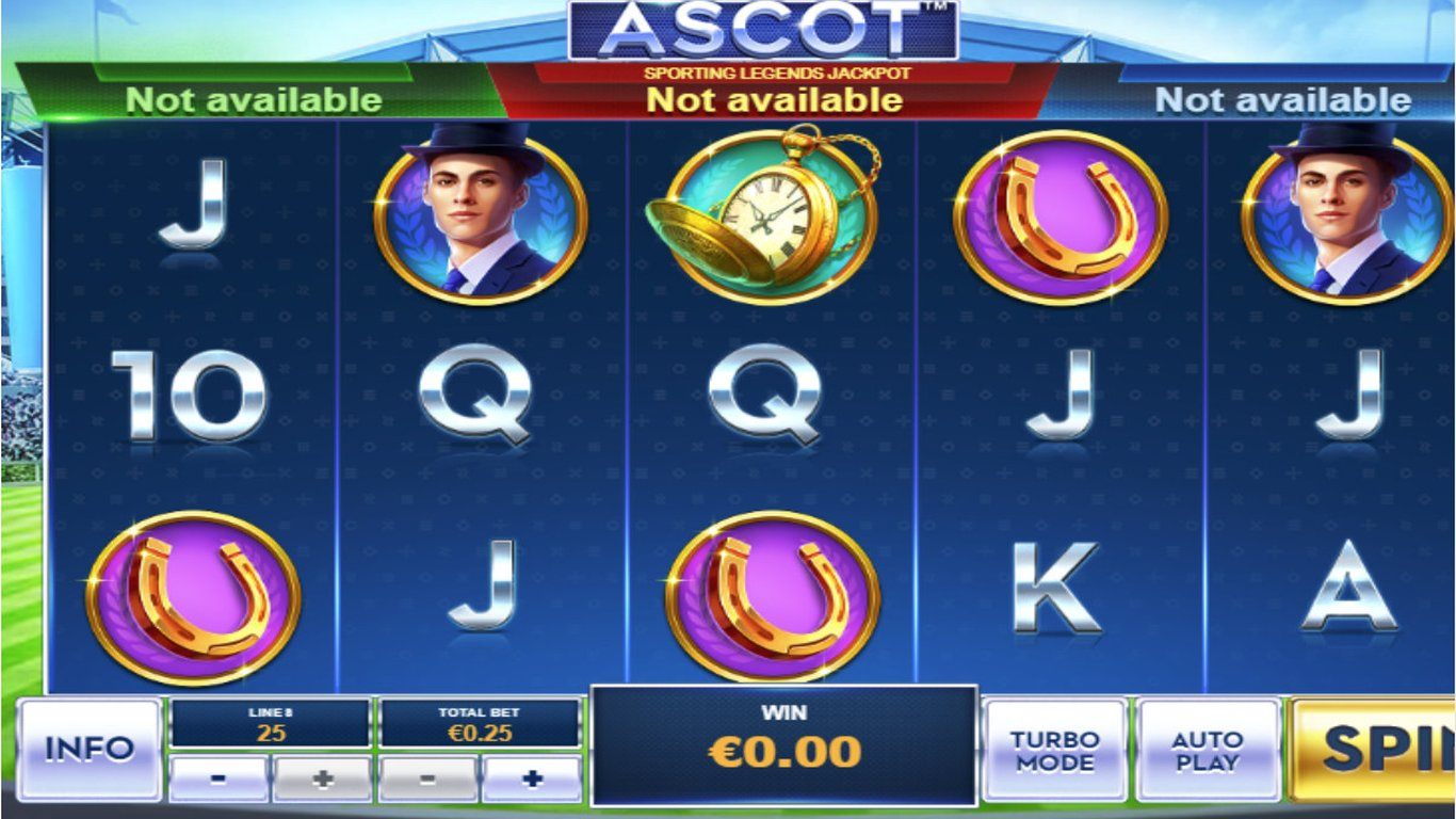 Ascot: Sporting Legends Slot Game