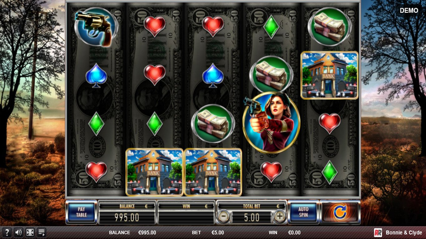 Bonnie and Clyde Slot Game