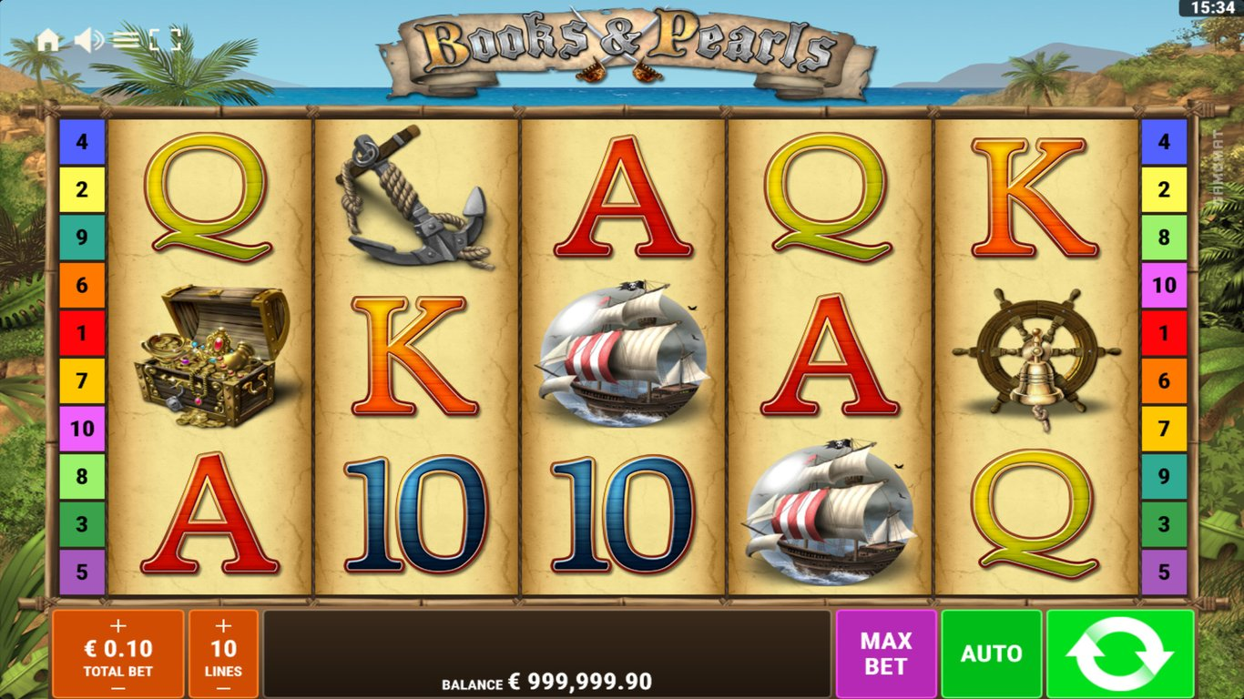 Books and Pearls Slot Game