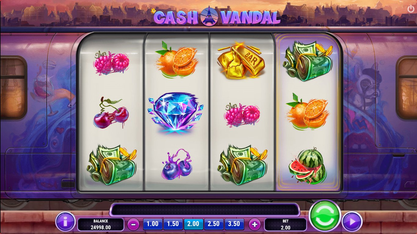 Cash vandal playn go casino slots cheats