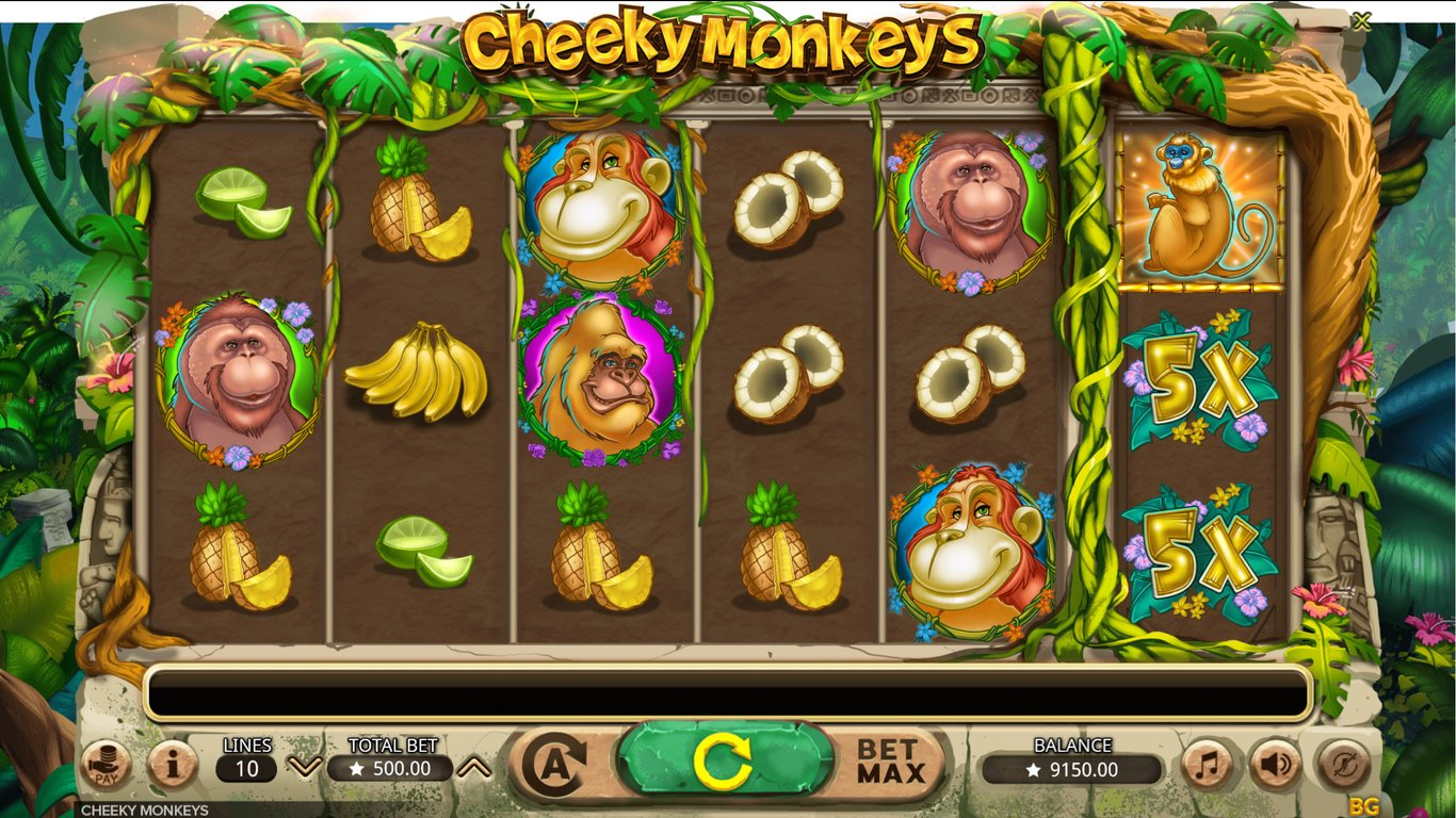 Cheeky Monkeys Slot Game