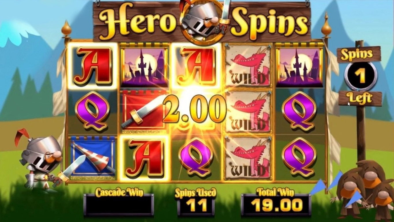 Dork the Dragon Slayer Slot Game