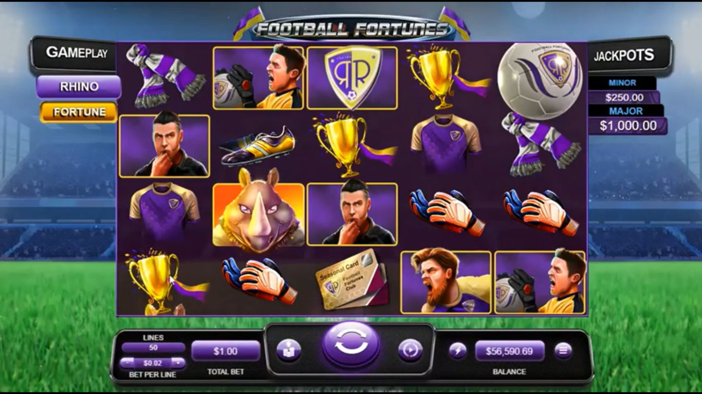 Football Fortunes Slot Game