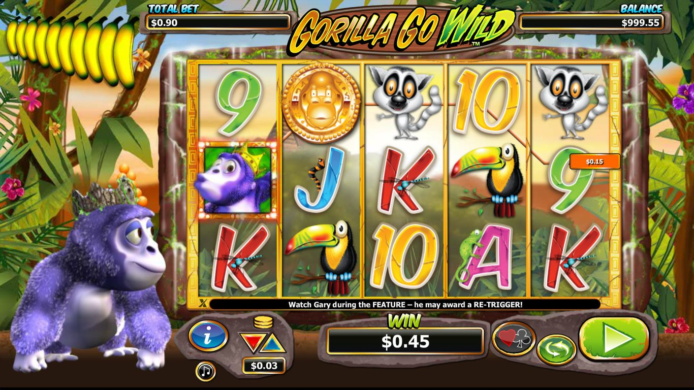 Gorilla Go Wilder Slot Game