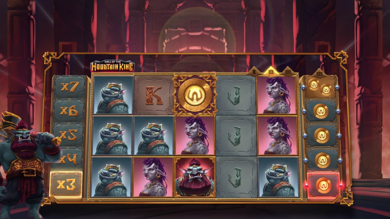 Hall of the Mountain King Slot Game