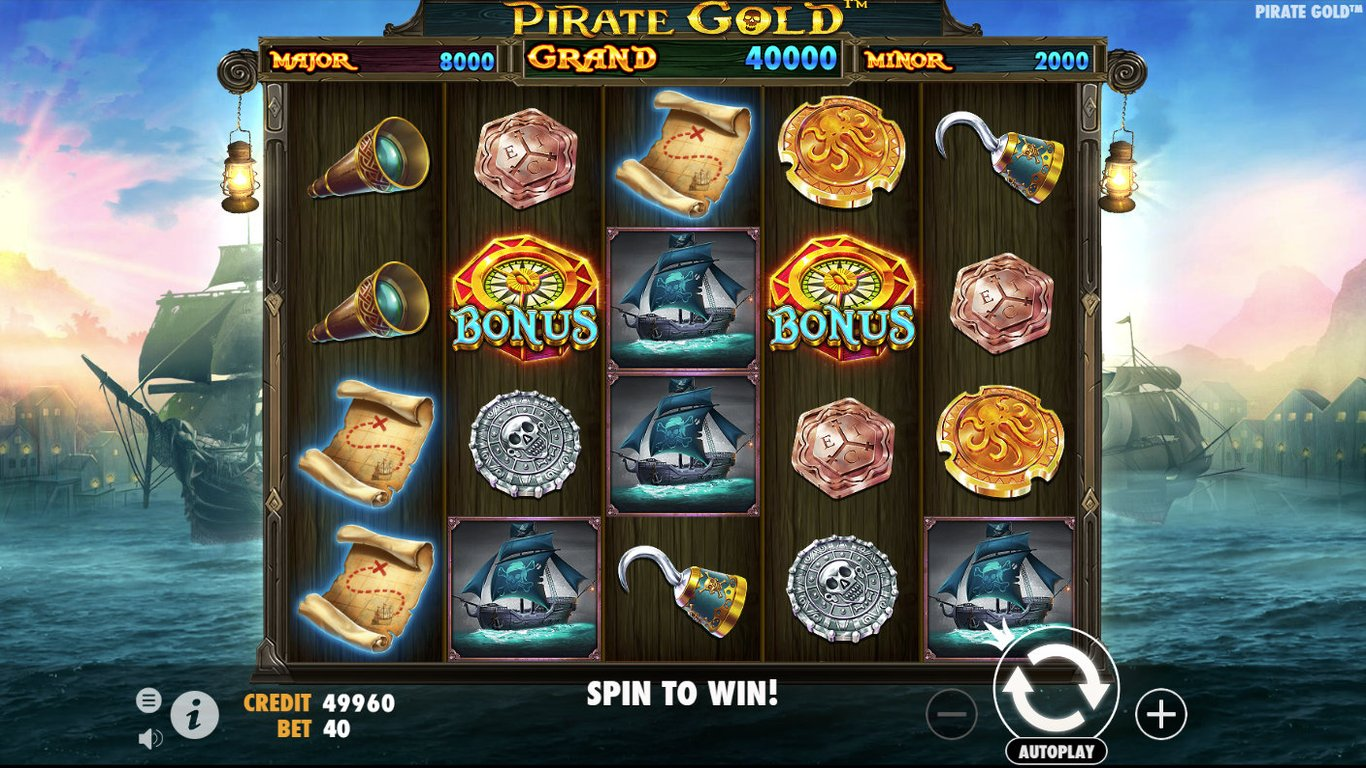 Pirate Gold Slot Game