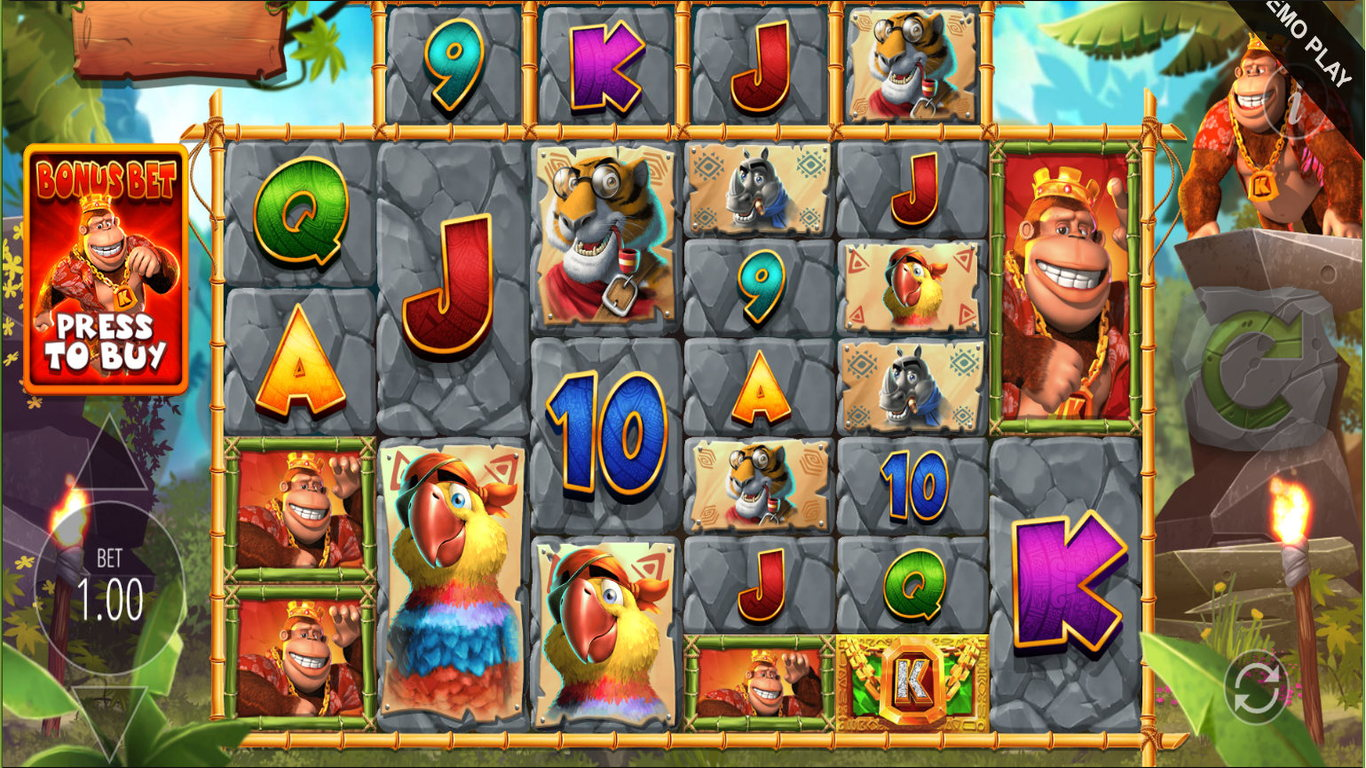 Return of Kong Megaways Slot Game
