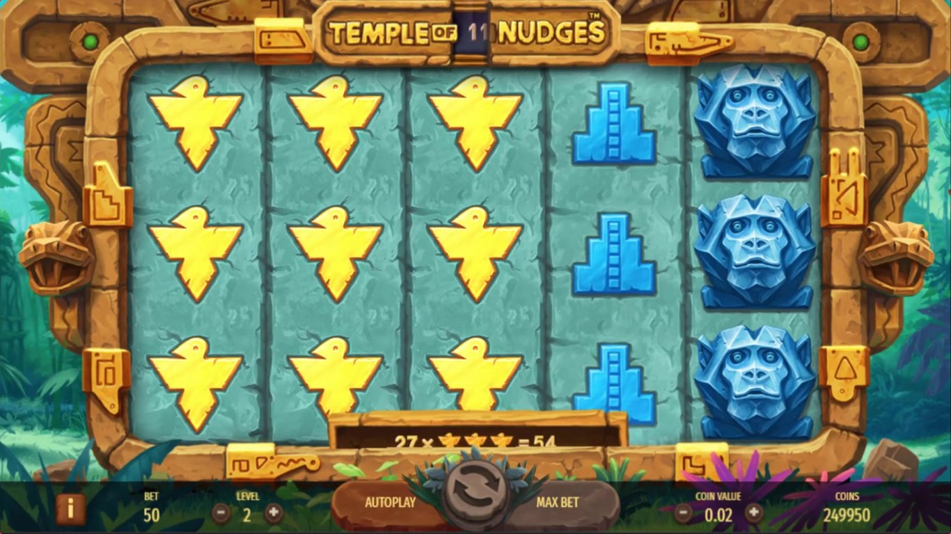 Temple of Nudges Slot Game